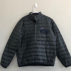 Patagonia men's snap T puffer pullover